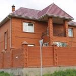 Коттедж в Красноярске (Покровка)